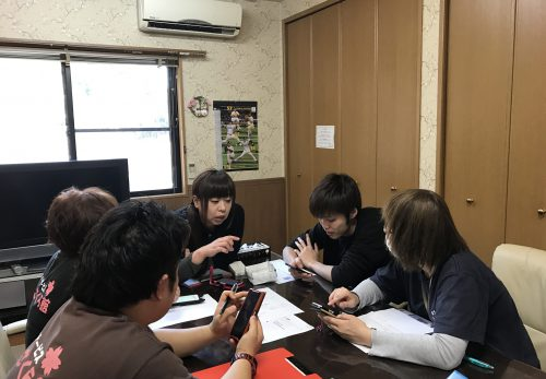image 1 500x347 - ただいま、1号館スタッフの貞末大先生によります、ブログ講習会❗️