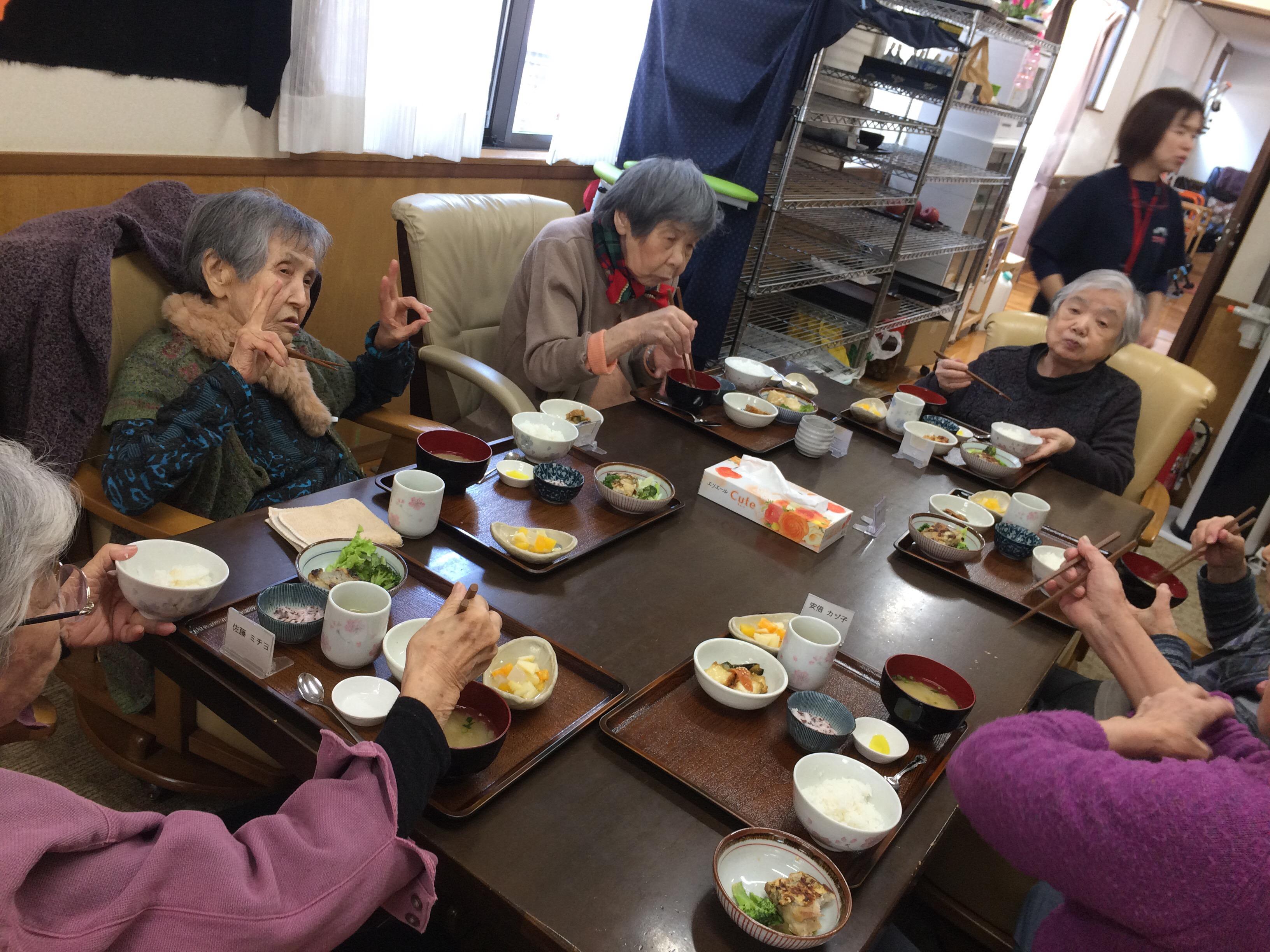 img 0167 - さくら館のお昼ごはん🍚🌸だぜぇ〜〜〜♪
