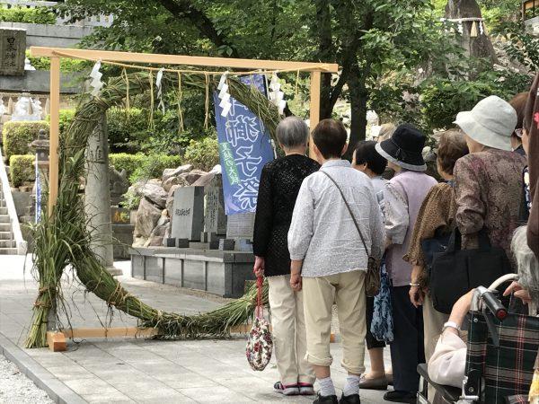 img 3777 - 日峯神社で茅の輪くぐり