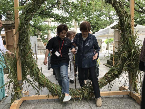 img 3778 - 日峯神社で茅の輪くぐり
