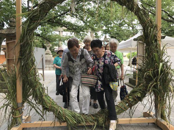 img 3779 - 日峯神社で茅の輪くぐり