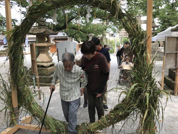 img 3785 - 日峯神社で茅の輪くぐり
