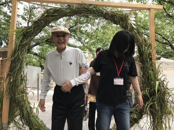 img 3812 - 日峯神社で茅の輪くぐり