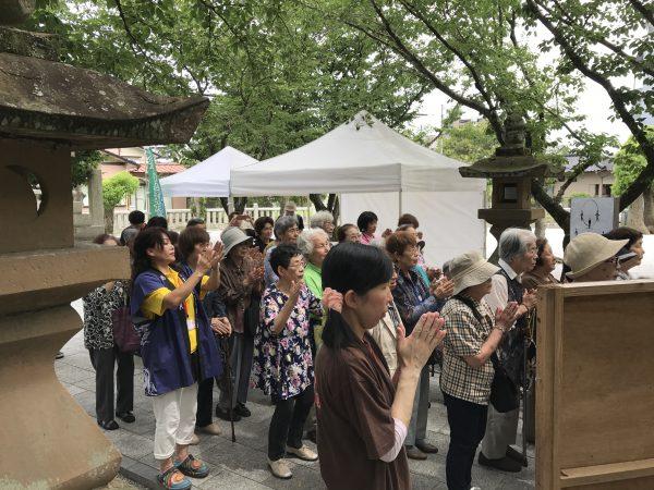 img 3814 - 日峯神社で茅の輪くぐり