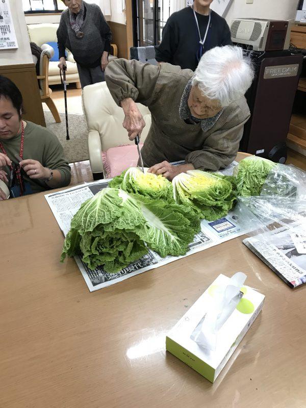 img 8329 - 白菜を漬けるよ!!
