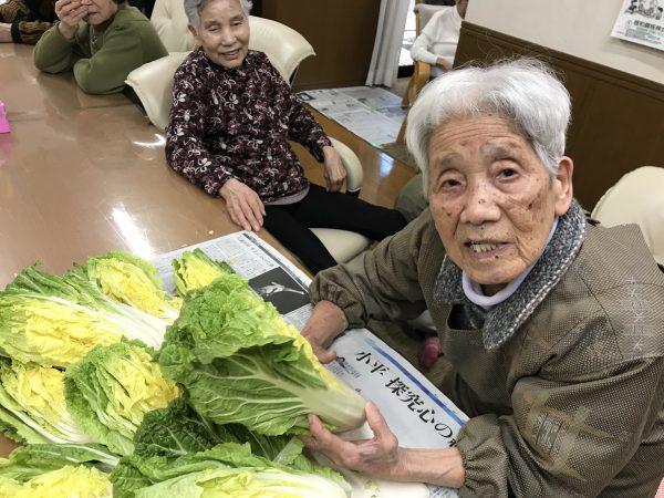 img 8336 - 白菜を漬けるよ!!